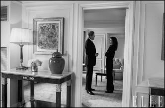 گفتگوی آنجلینا جولی و جان کری به مناسبت روز جهانی زن/