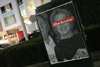 «صد در صد مطمئن نیستم خبر دارد» / «کسی که به ما ضربه می زند باید ضربه بخورد»!/ صحبت های طراح پوسترهای ضد مریل استریپ در خیابان های لس آنجلس/ استریپ اطلاع از اعمال هاروی واینستاین را تکذیب کرده ...